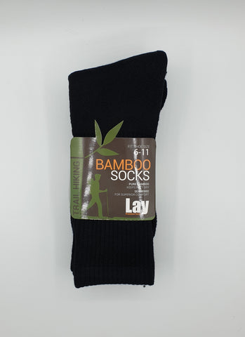 Bamboo Crew Length Sport Sock 3 Pair Pack