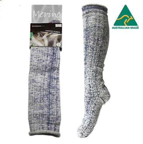 Merino Fleece Knee Length