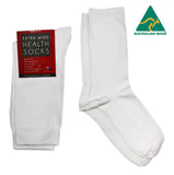 Extra Wide Health Socks