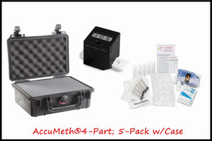 Black Box Reader® Meth Test Device + AM®4-Part Kits + Case