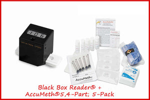 Black Box Reader® Digital Meth Testing Device + AccuMeth® Kits w/o Case