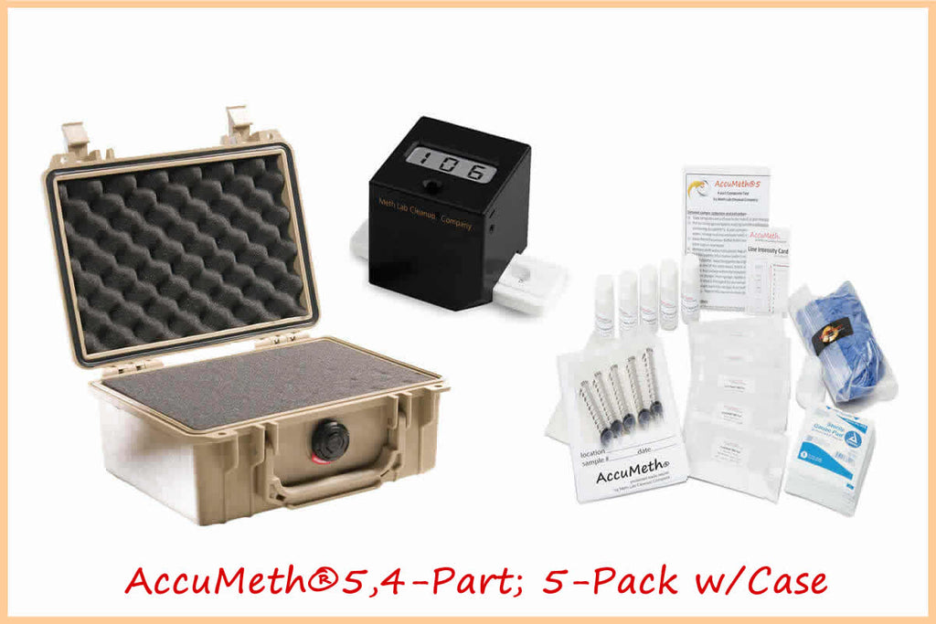 Black Box Reader® Digital Meth Reader + AM5,4-Part Kits + Case