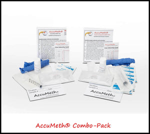 AccuMeth® Combo-Pack Home Meth Tests | 0.1 Standard