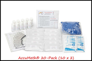 AccuMeth® Meth Residue Testing Kit | 0.1 Standard