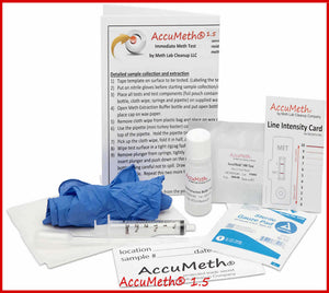 AccuMeth®1.5 Home Meth Testing Kit |1.5 Standard