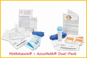 MethAssure® + AccuMeth®4 Dual Pack | Meth Residue Test Kits