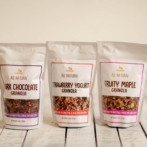 All-natural granola