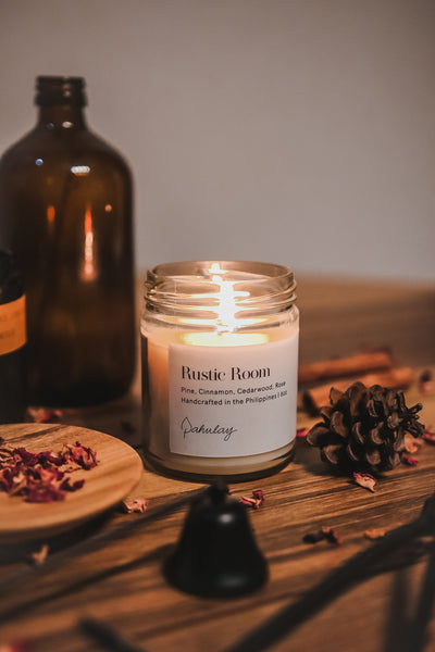 Artisanal soy wax blend candle