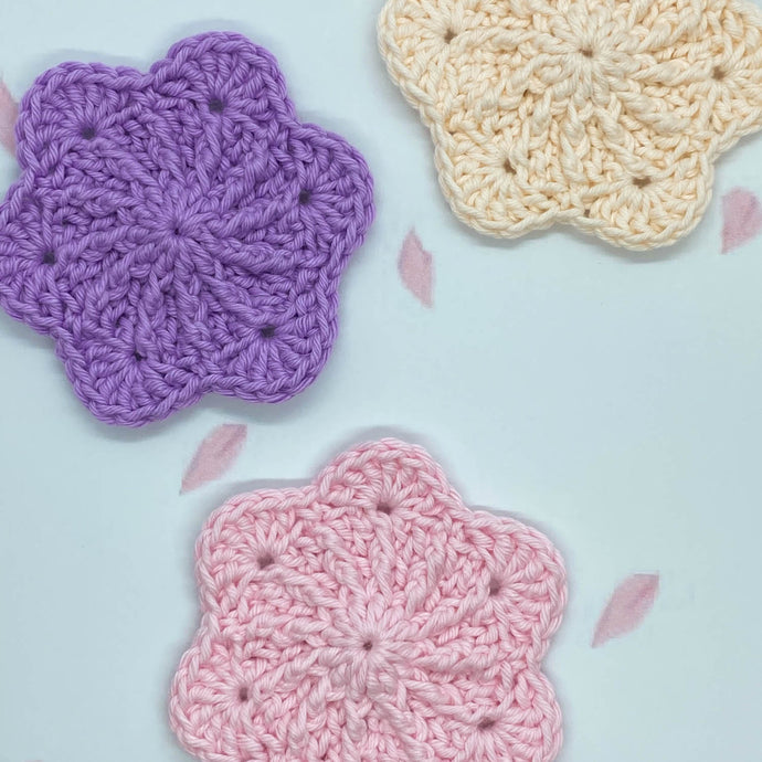Sakura Face Scrubbies Set