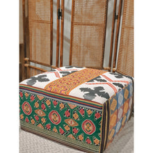 Load image into Gallery viewer, Abel & Laos Handwoven Ottoman