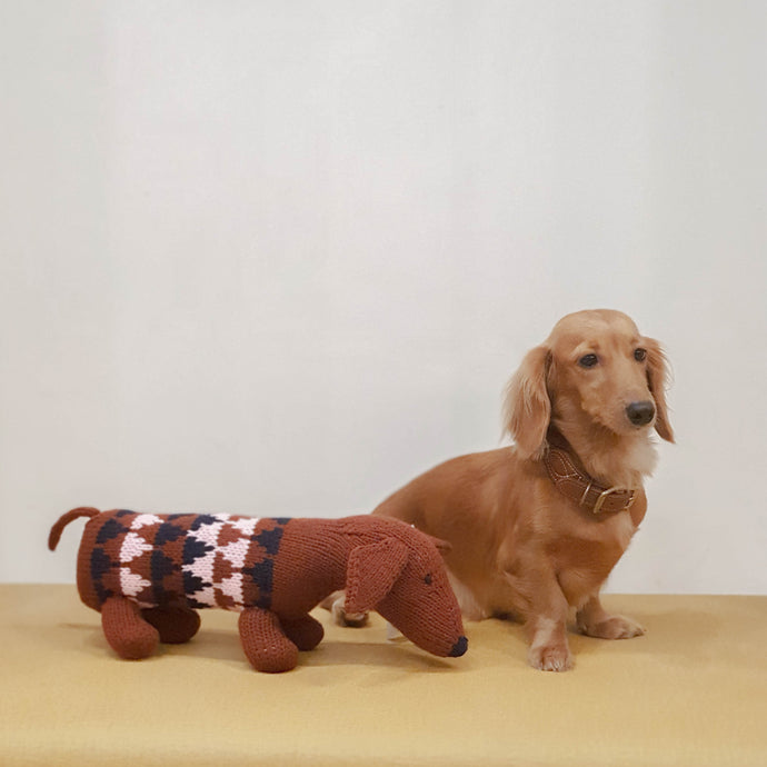 Doxie Plushie