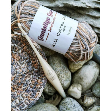 Milk Cotton Light Fleck Mini Yarn
