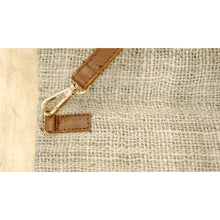 Load image into Gallery viewer, Coffee Sack Clutch & Crossbody Bag
