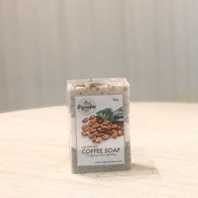 Coffee Vanilla Scrub Soap