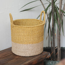 Load image into Gallery viewer, Abaca Round Basket
