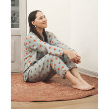 Load image into Gallery viewer, Dotted Silk Pajamas