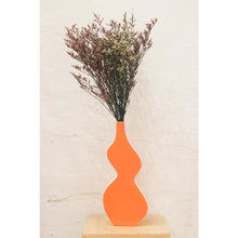 Load image into Gallery viewer, Orange Flower Vase
