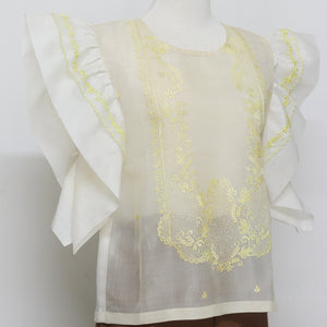 Embroidered Barong Top