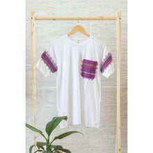 Load image into Gallery viewer, White Ethnic Pocket Shirts