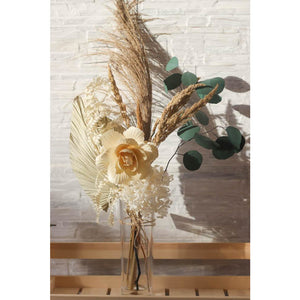 Rustic Dried Flower Decor