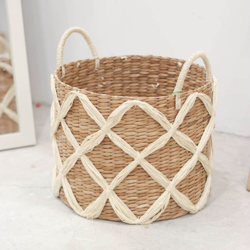 Rustic Seagrass Basket