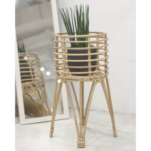 Load image into Gallery viewer, Rattan Plant Stand