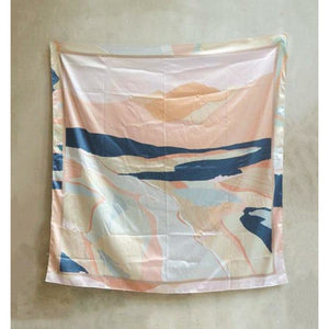 Small Town Folk Silk Scarves