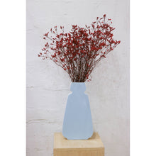Load image into Gallery viewer, Blue Flower Vase Decor