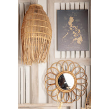 Load image into Gallery viewer, Rattan Wall Mirror