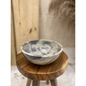 Blue Century Marble Bowl