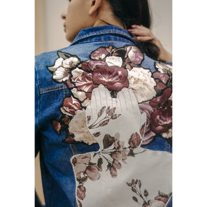 Upcycled Denim Jacket