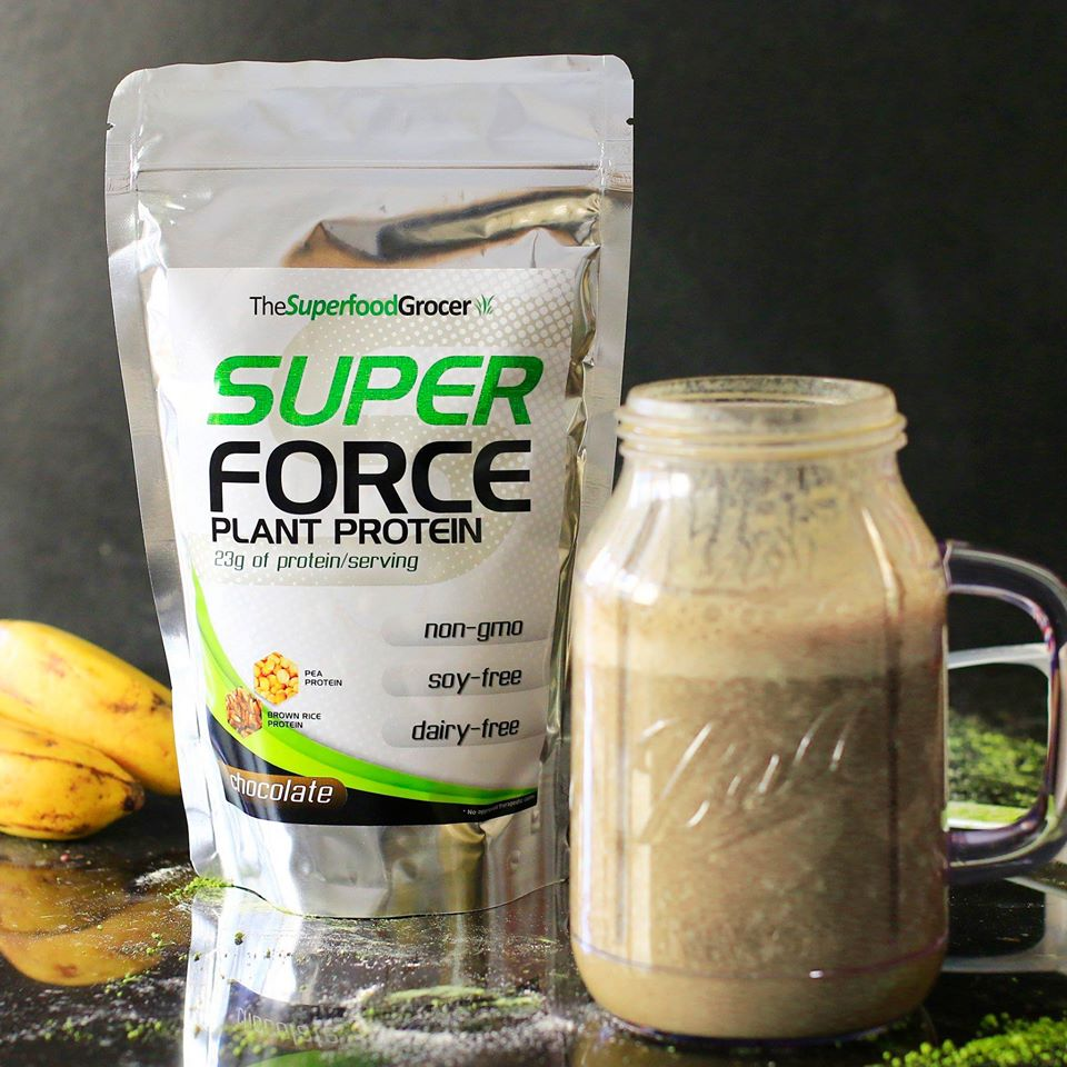 Super Force Plant Protein