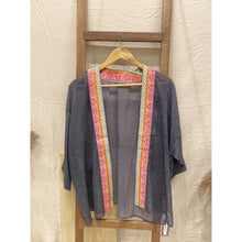 Load image into Gallery viewer, Vintage Denim Kimono
