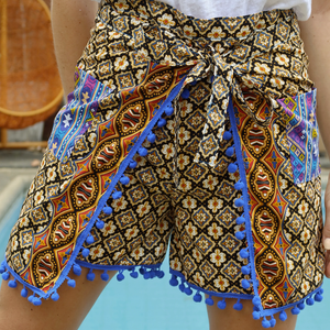 Agathe Wrap Around Pants and Shorts