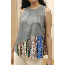 Load image into Gallery viewer, Chambray Sleeveless Top