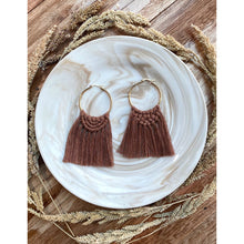 Load image into Gallery viewer, Macrame Earrings