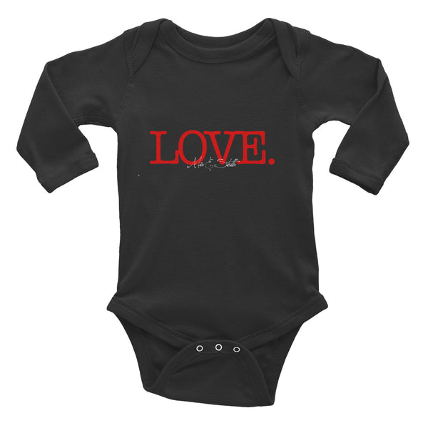 LOVE - Infant Long Sleeve Bodysuit