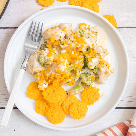 Chicken Cheddar Broccoli Bake