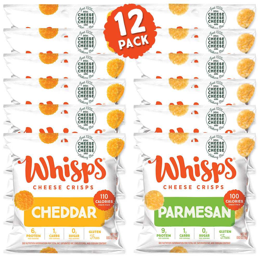 Buy Whisps Parmesan and Cheddar Cheese Crisps Variety Pack on Amazon