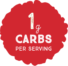 1g Carbs per Serving