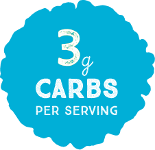 3g Carbs per Serving
