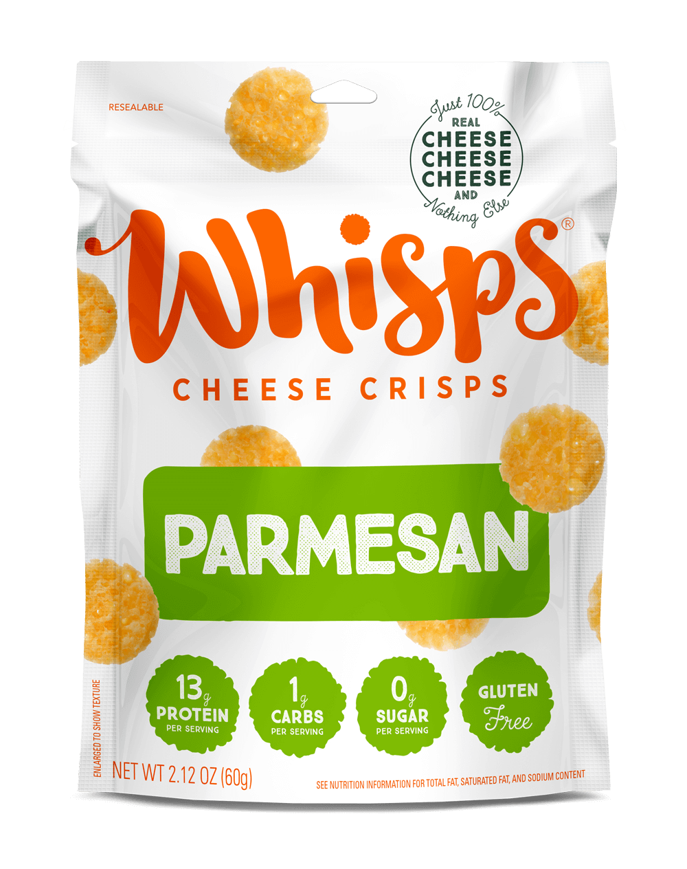 Buy Parmesan Cheese Crisps on Amazon