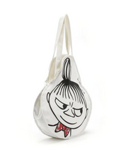 Load image into Gallery viewer, Fairly Made Moomin Little My Raw Cotton Tote