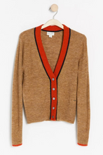Load image into Gallery viewer, Beige Knitted Cardigan