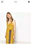 Load image into Gallery viewer, Fairly Made Yellow Floral Sporty Maxi Dress