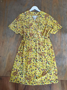 Fairly Made Yellow Floral Dress
