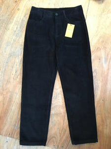 Fairly Made 100% Cotton Tapered Cord Trousers