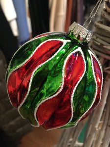 Glass Bauble Decorations