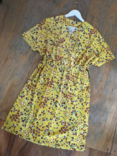 Load image into Gallery viewer, Fairly Made Yellow Floral Dress
