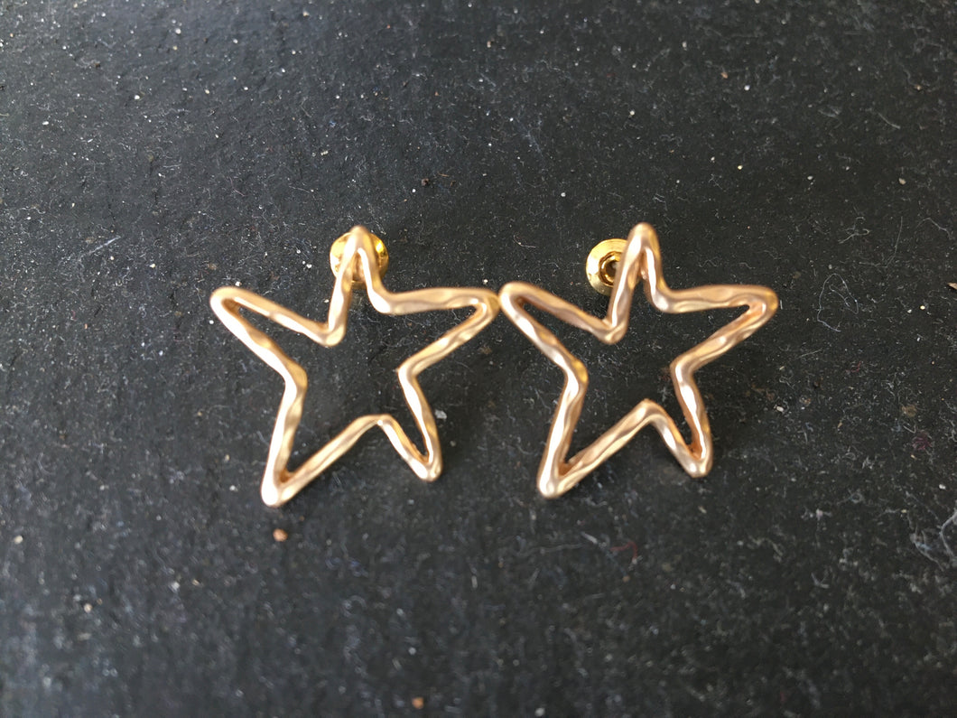 Fairly Made Star Stud Earrings